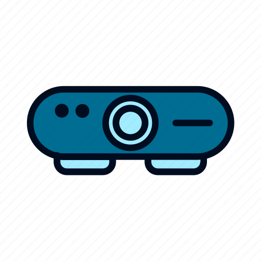 and, computer, device, gadget, mobile, projector, technology icon