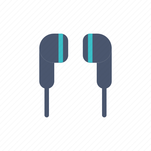 and, device, earphone, gadget, headset icon