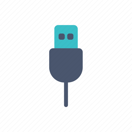and, device, gadget, usb icon