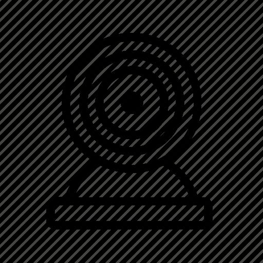 cam, device, gadget, webcam icon