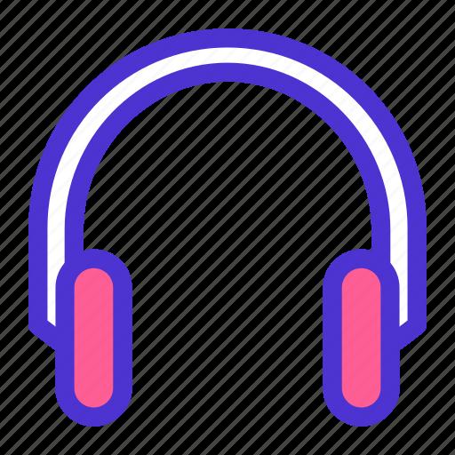 device, earphone, gadget, headset, listen, media, music icon