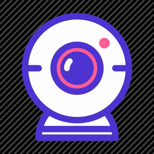 camera, device, gadget, photo, picture, video, webcam icon