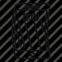 bend, device, electronic, foldable, future, futuristic, phone icon