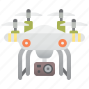 action, camera, drone, quadcopter, technology