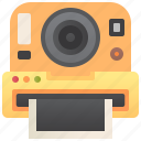 camera, film, instant, photo, shutter icon
