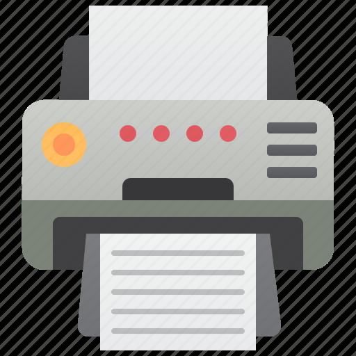 copy, documents, machine, office, printer icon