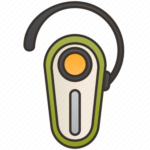 Accessory, bluetooth, earphone, headset, wireless icon - Download on Iconfinder