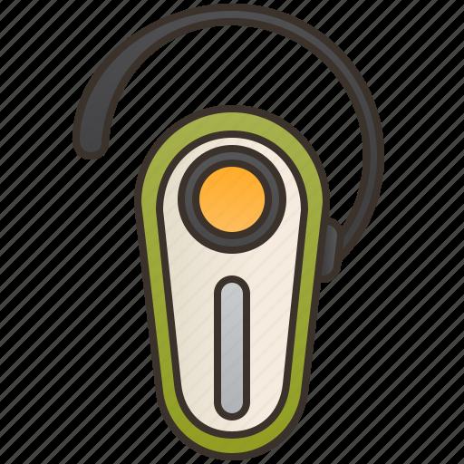 accessory, bluetooth, earphone, headset, wireless icon