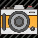 camera, capture, compact, digital, photographer icon