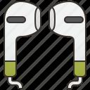 accessory, audio, earphone, music, sound