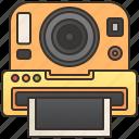 camera, film, instant, photo, shutter