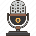 microphone, radio, recording, singer, speech