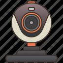 communication, computer, digital, online, webcam