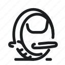 electric, gadget, monowheel, unicycle icon
