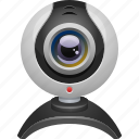 camera, technology, web cam, webcam icon