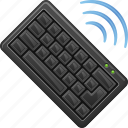 computer keyboard, keyboard, tecchnology, wireless keyboard icon