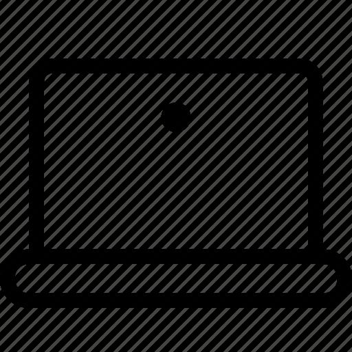 computer, device, laptop, macbook, notebook, notebook screen icon