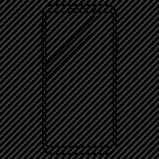 18:9, device, phone, samsung, smartphone icon