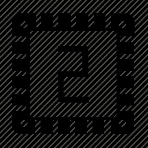 chip, micro, storage icon