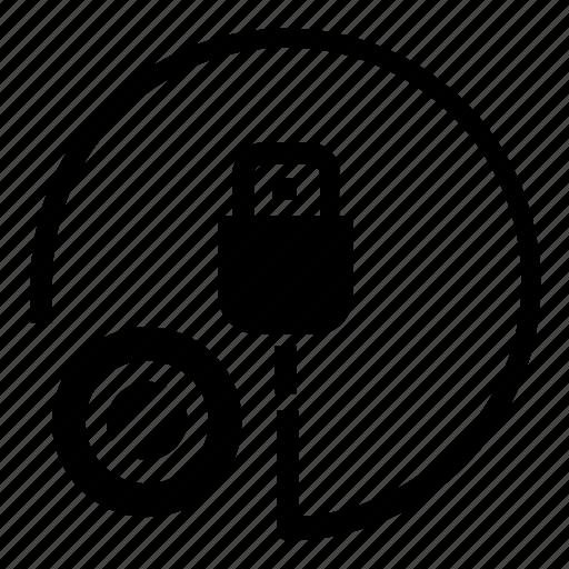 block, cable, hardware icon