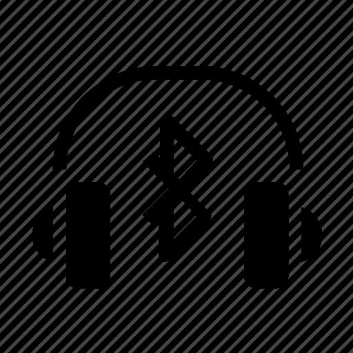 bluetooth, headset icon