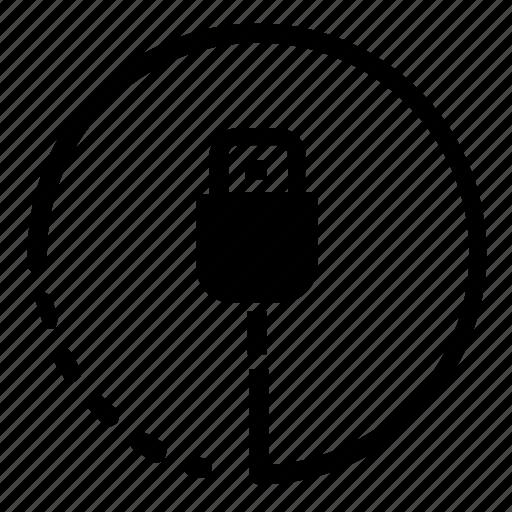 electronic, hardware, plug icon