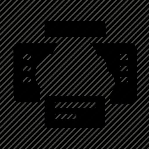 archive, cloud, printer icon
