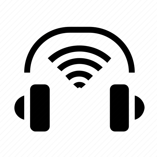 headset, wireless icon