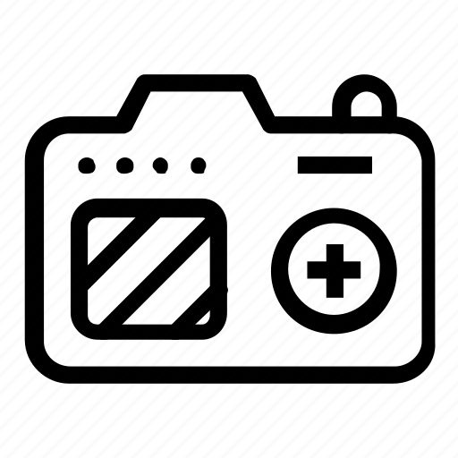 camera, electronic, photography icon