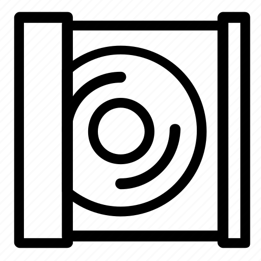 cd, computer, reader icon