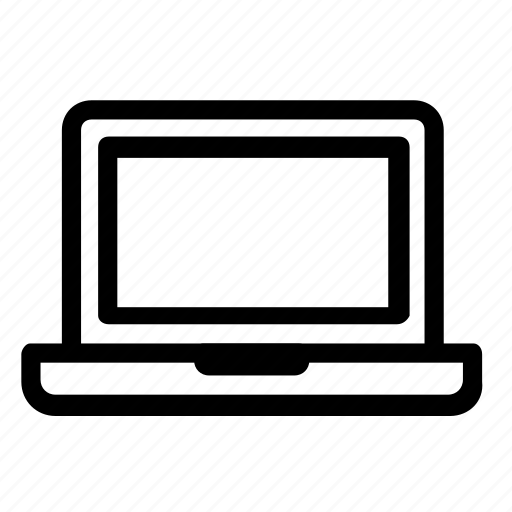 computer, device, laptop icon