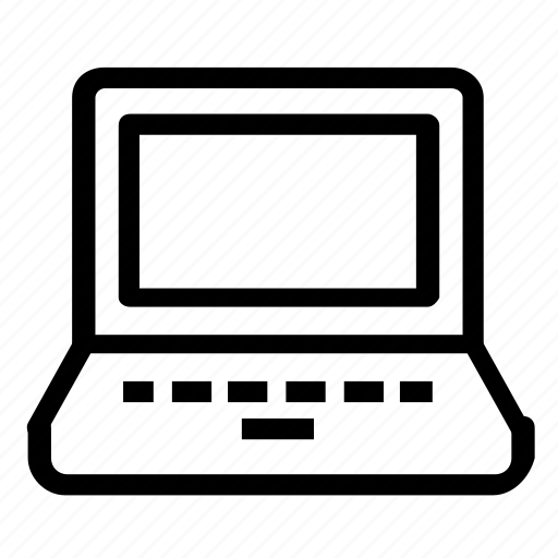 computer, device, laptop icon