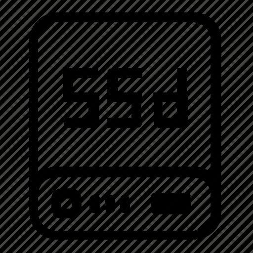 device, server, ssd icon