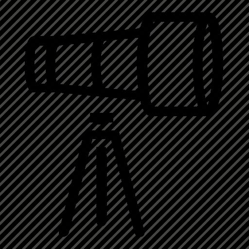 device, search, telescope icon