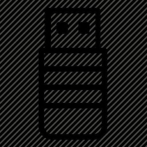 stick, storage, usb icon