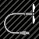 cooler, device, fan, gadget, mini, usb, ventilator icon