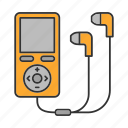 audio, earphones, headphones, ipod, listen, mp3, music icon