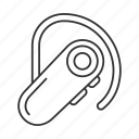 accessory, ear, headphone, headset, mobile, wireless, bluetooth