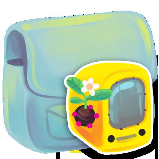 computer, folder icon