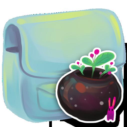 flowerpot, folder icon