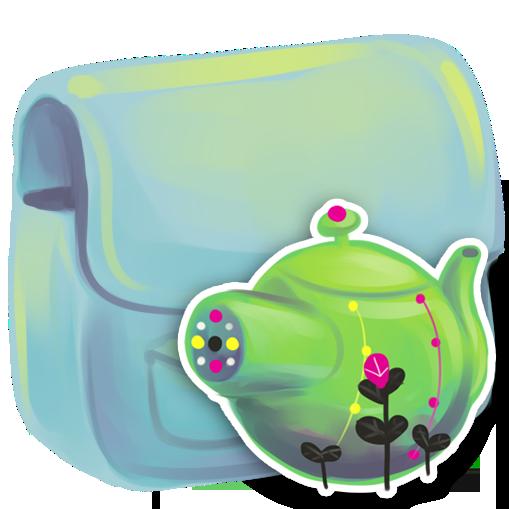 folder, kettle icon
