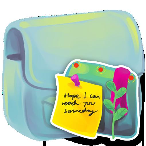folder, note icon