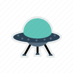 alien, galaxy, invasion, solar, spaceship, system, universe icon