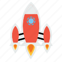 alien, galaxy, invasion, rocket, solar, spaceship, universe icon