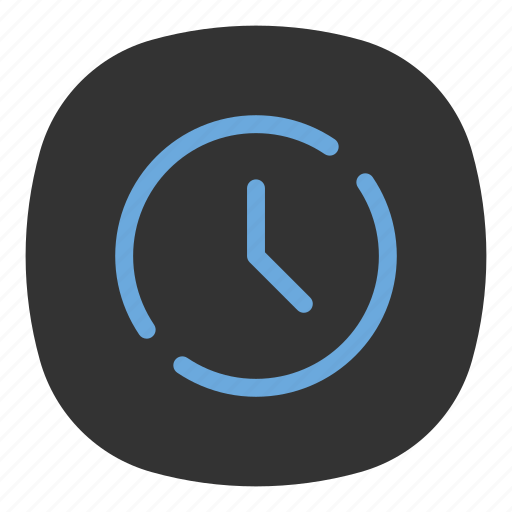 app, clock, mobile, open line, schedule, time, ui icon