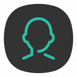 account, app, contacts, mobile, open line, ui, user icon