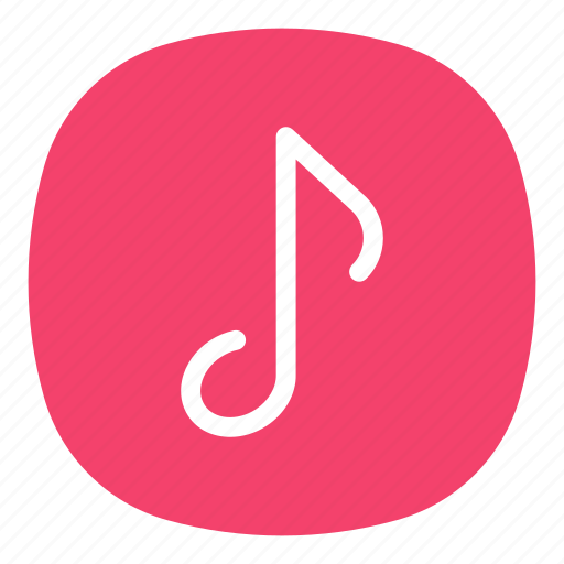 app, mobile, music, open line, playlist, track, ui icon