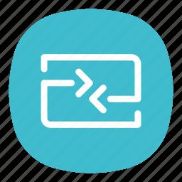 app, connection, data, internet, mobile, open line, tranfers icon