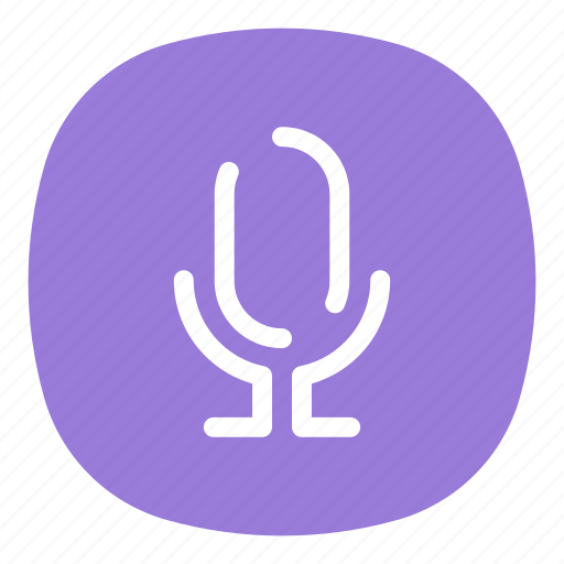 app, galaxy, mic, microphone, mobile, open line, recorder icon