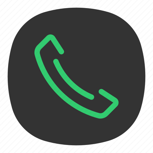 app, call, galaxy, mobile, open line, phone, settings icon